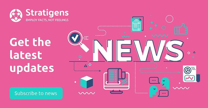 Stratigens stay up to date on news